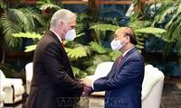 Vietnam, Cuba issue joint statement on President Nguyen Xuan Phuc's visit