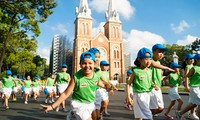 全国各地响应为全民健康奥林匹克跑步日