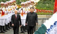 越共中央总书记、国家主席阮富仲电贺朝鲜最高领导人金正恩