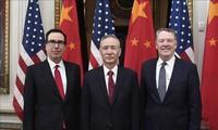 美中两国结束关于贸易问题的第一天谈判