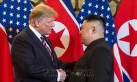 美国总统愿意与朝鲜领导人金正恩再次见面