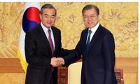 中韩关系改善信号