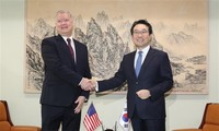 韩美重申朝鲜半岛无核化目标