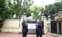 意大利驻越大使对越南向意大利防控新冠肺炎疫情捐赠物资表示感谢