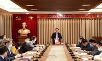 河内市委书记王庭惠:防控新冠肺炎和减少疫情损失是头等优先任务