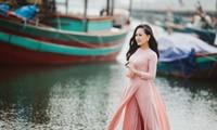 歌手阮芳青演唱的民歌