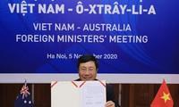 加强越澳战略伙伴关系