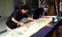 Vietnam, RoK arts shine on traditional paper