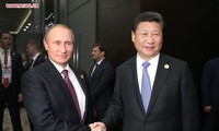 Chinese, Russian Presidents renew cooperation pledges