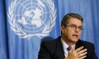 WTO warns of existing protectionism risks