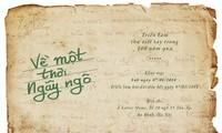 Hand-written letter exhibition awakes reminicenses