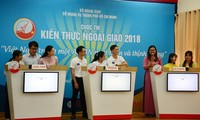 Quiz marks 73rd anniversary of Vietnam's diplomatic sector