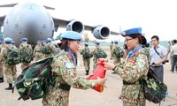 Vietnam peacekeeping force sets out on first mission in South Sudan