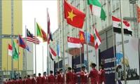 Flag-raising ceremony held for Vietnam at Asian Para Games 2018