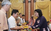 Vice President meets national contributors from An Giang