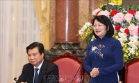 Vice President meets education managers, pedagogists
