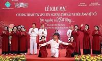 Phu Tho festival honors Mother Goddess Worship, ancient village festival