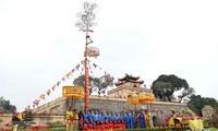 Traditional Tet rituals re-enacted at Thang Long imperial citadel