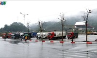 Customs clearance resumes at Coc Nam border gate