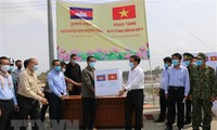 Vietnam supports Cambodia's Pray Veng province to fight Covid-19