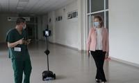 UNDP presents robots to help medical staff work remotely