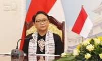 Indonesia's top diplomat urges for Beijing cooperation in regional security