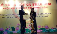 Writing contest on Hanoi spreads love for Vietnam's capital