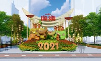 Nguyen Hue flower street to open on February 9