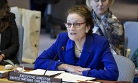 UNICEF chief calls for global cease-fire for COVID-19 vaccination