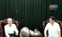 Presidente del Frente de la Patria en visita de trabajo a Can Tho