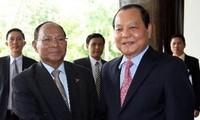 Presidente del Parlamento Camboyano visita Vietnam