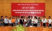 Promueven implementación de la Estrategia de desarrollo de viviendas en Hanoi
