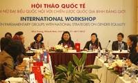 Vietnam destaca papel de las diputadas en el fomento de la igualdad de género