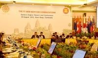 Ministros de Economía de ASEAN consultan a socios de China, Japón y Surcorea
