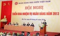 Primer Ministro asiste a conferencia de proyectar tareas del sector bancario