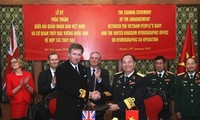 Más relación militar entre Vietnam y Reino Unido