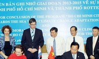 Vietnam y Holanda refuerzan cooperación en cambio de clima