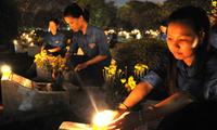 Homenaje a los mártires y multilados de guerra