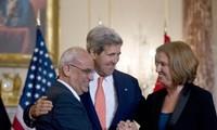 Israel y Palestina prometen esfuerzos hacia un acuerdo de paz