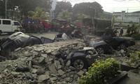 Aumenta saldo de víctimas por terremoto en Filipinas
