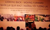 Vietnam y Suecia conmemoran 46 años de cooperación para el desarrollo