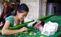 Van Lam, aldea del bordado de Ninh Binh