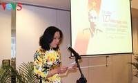 Conmemoran en Holanda el aniversario 127 del natalicio del presidente Ho Chi Minh