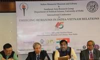 """Celebran en Nueva Delhi el seminario """"Nuevos horizontes de relaciones Vietnam-India"""""""