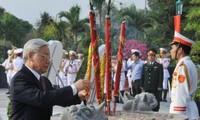 Continúan en Vietnam las actividades en honor a los Inválidos y Mártires de Guerra