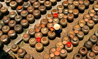 El oficio de fabricar salsa de soja en Cu Da