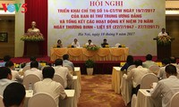 Vice premier urge a perfeccionar las políticas a favor de las personas meritorias