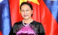La líder parlamentaria vietnamita de visita oficial en Kazajstán