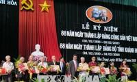 Localidades vietnamitas celebran 88 años de fundación del Partido Comunista
