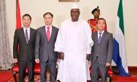 Fortalecen las relaciones entre Vietnam y Nigeria